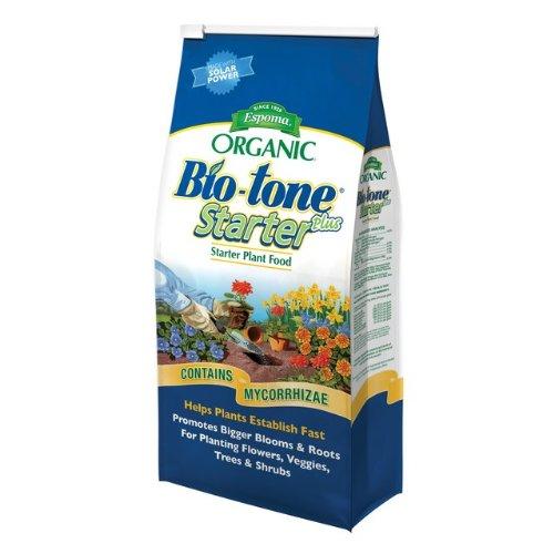 Espoma BTSP18  Bio-Tone Starter Plus Plant Food Bag, 18-Pound