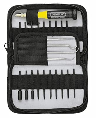 UltraTech 28 Piece Multi-Blade Precision Set with Zipper Case