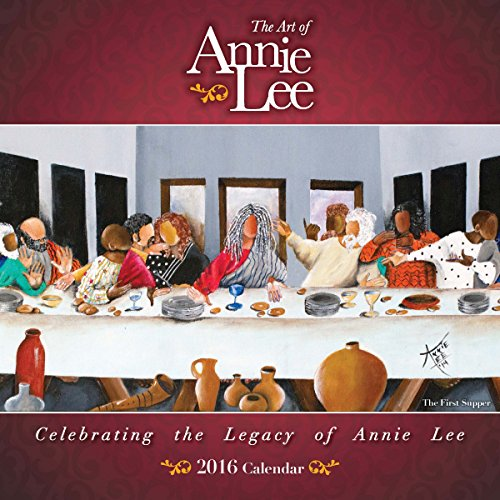 """Shades of Color 2016 The Art of Annie Lee African American Calendar, 12""""x12"""" (16AL)"""