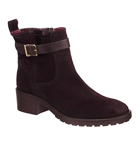 Botines Tommy Hilfiger WHITNEY 6B marron - Color - MARRON, Talla - 40: Amazon.es: Zapatos y complementos