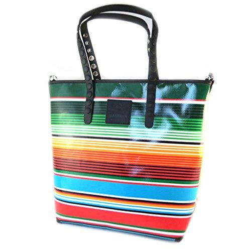 Borsa creatore Gabsrighe multicolor (l)- 40x35x11.5 cm.