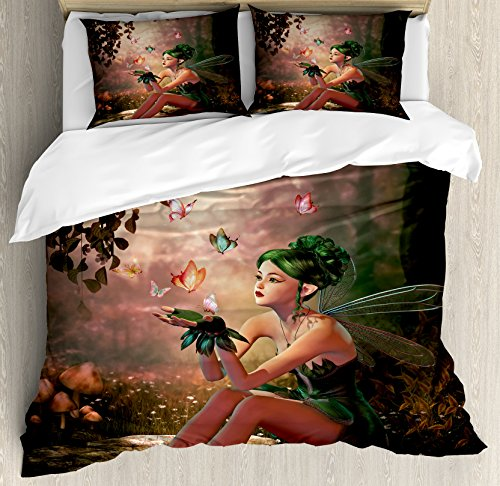 pretty fairy bedding set