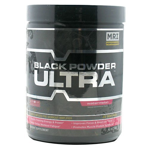 MRI Ultra Black Powder, Watermelon, 240 Gram by MRI