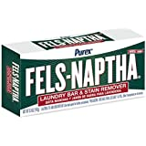 Dial 723154 Fels Naptha Laundry Bar Soap, 5.0oz Size (Pack of 24)