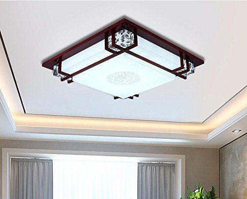 FYios LED Flush Mount Ceiling Light Natural White Fitting for Living Room,Bathroom,Bedroom,and Dining Room LED Ceiling Lights [Energy Class ()