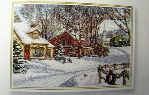 Amazon Hallmark Christmas Boxed Cards Px2015 Winter Street