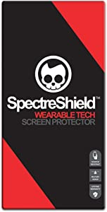 Spectre Shield (4 Pack) Screen Protector for Apple Watch 40mm (Series 6 5 4 SE) iWatch Accessory Apple Watch 40mm Series 6, 5, 4, SE Screen Protector Case Friendly Full Coverage Clear Film