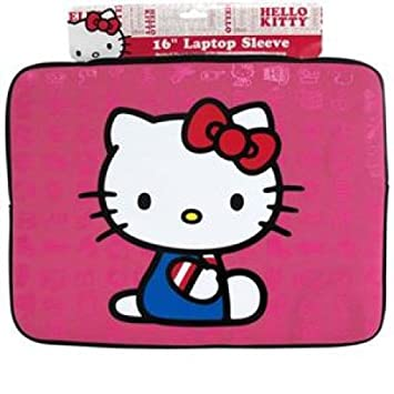 df56d3bef Hello Kitty Laptop Sleeve Pink: Amazon.co.uk: Office Products