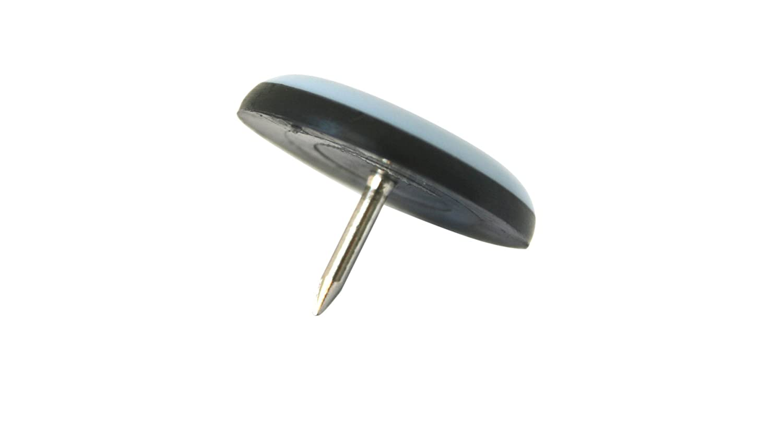 20 x Patin glisseur en teflon avec ongles - 19 mm - rond - patins pour chaise et autre meuble GleitGut GmbH