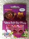 Nickelodeon ultra soft ear plugs Dora the explorer