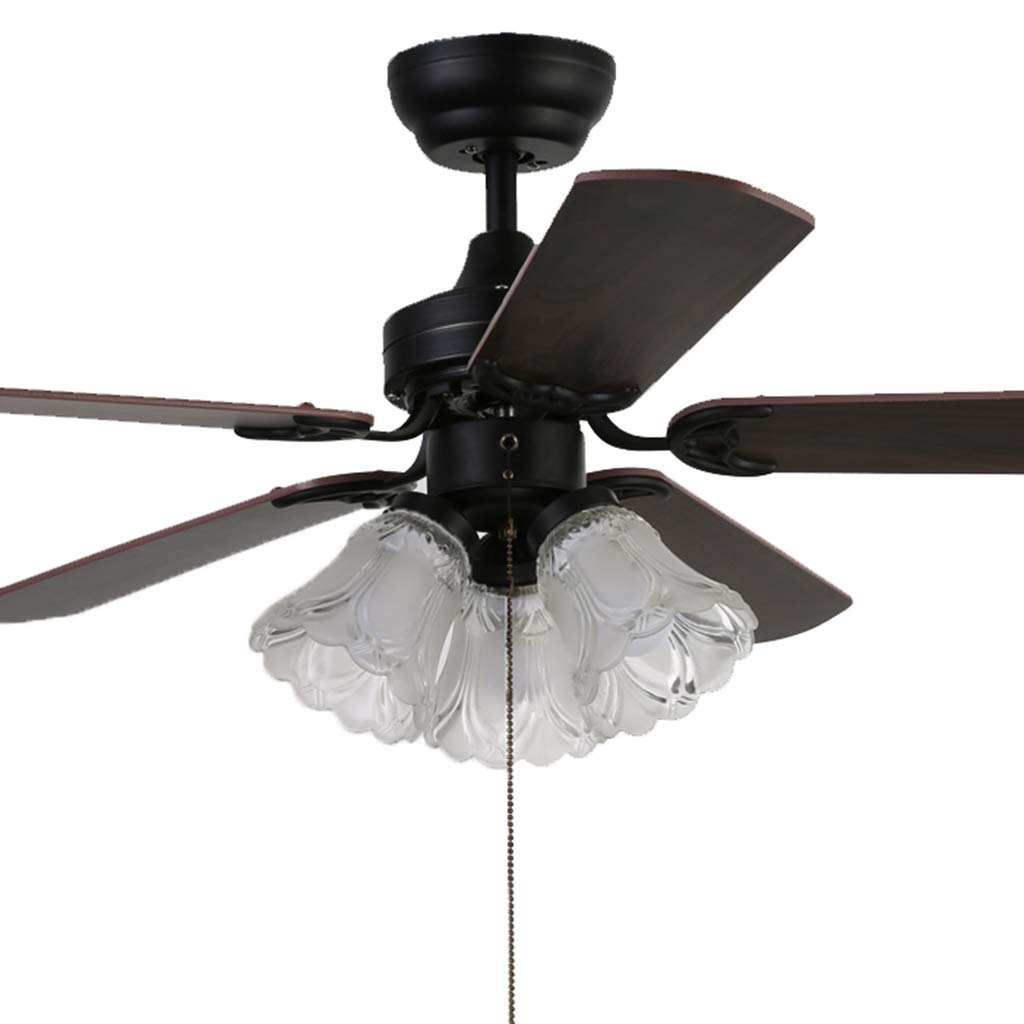 Amazon.com: Ceiling Fans with Light Fan with lamp, Antique Electric ...