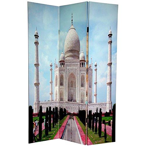 Oriental Furniture 6 ft. Tall Double Sided Taj Mahal Room Divider