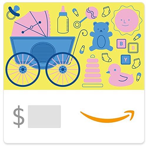 (Amazon eGift Card - Baby Icons Yellow)