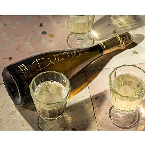 Della Vite Treviso D.O.C Premium Italian Prosecco – Light & Delicious Prosecco Wine (Single Bottle, 11.5% 750ml)
