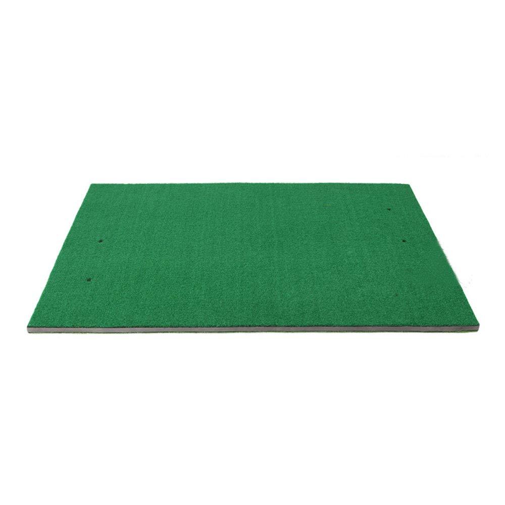 ゴルフマット - 室内と屋外のスイングトレーナーの片面と両面の練習用ブランケットサイズ:1 x 1.2 / 1.5 m + (サイズ さいず : A:100x120cm) A:100x120cm  B07QGSF2MK