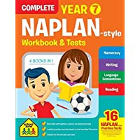 NAPLAN*-style Complete Year 7 Workbook and Tests (new cover)