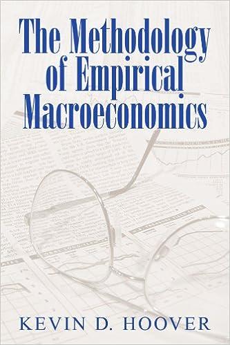 Book The Methodology of Empirical Macroeconomics