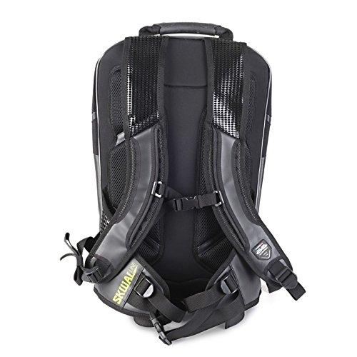 Motorrad Rucksack Hyosung GT 650/i S Bagster Avenger XSD050 20 Liter schwarz fqj86LWW