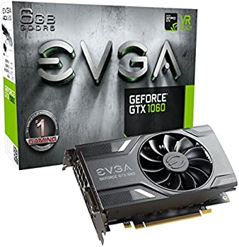 EVGA GeForce GTX 1060 6GB Gaming Graphics Card
