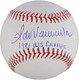 Fernando Valenzuela Los Angeles Dodgers Autographed Baseball with 1981 WS Champs Inscription - Fanatics Authentic Certified