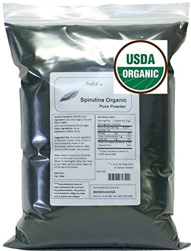 NuSci Organic Spirulina Powder...