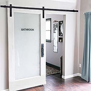 183cm herraje para puerta de corredera de madera puerta for Herraje puerta corredera colgada