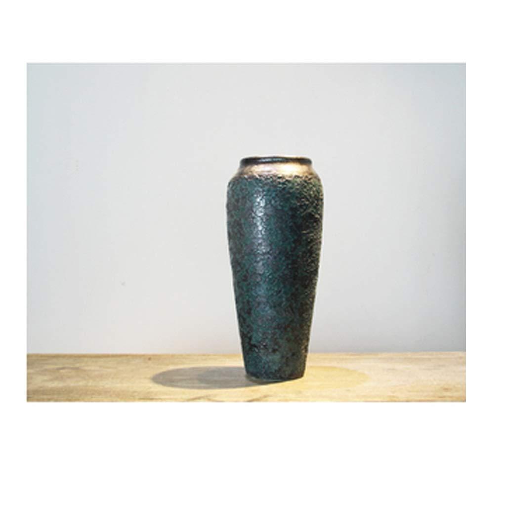 新中国セラミック花瓶の装飾リビングルームの装飾ヴィンテージ花瓶 SHWSM (サイズ さいず : High 35CM) B07SDPGYT7  High 35CM