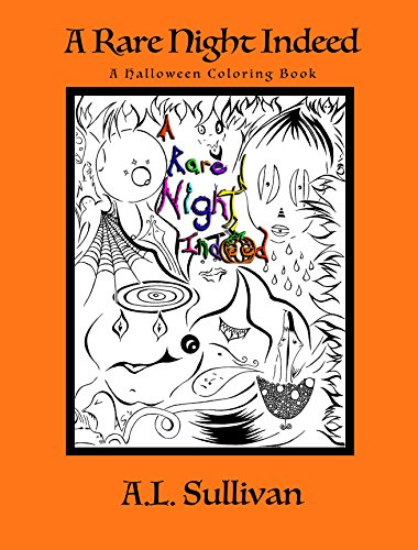 (A Rare Night Indeed: A Spooky, Spirited, Fright Night Halloween)