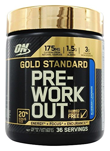 Optimum Nutrition PreWorkout BlueberryLemonade FreeBonus