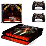 Vanknight Vinyl Decal Skin Sticker Cover Kylo Ren for for PS4 Playstaion Controllers Star Wars The Force Awakens