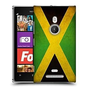 Head Case Designs Jamaica Jamaican Vintage Flags Hard Back Case for Nokia Lumia 925