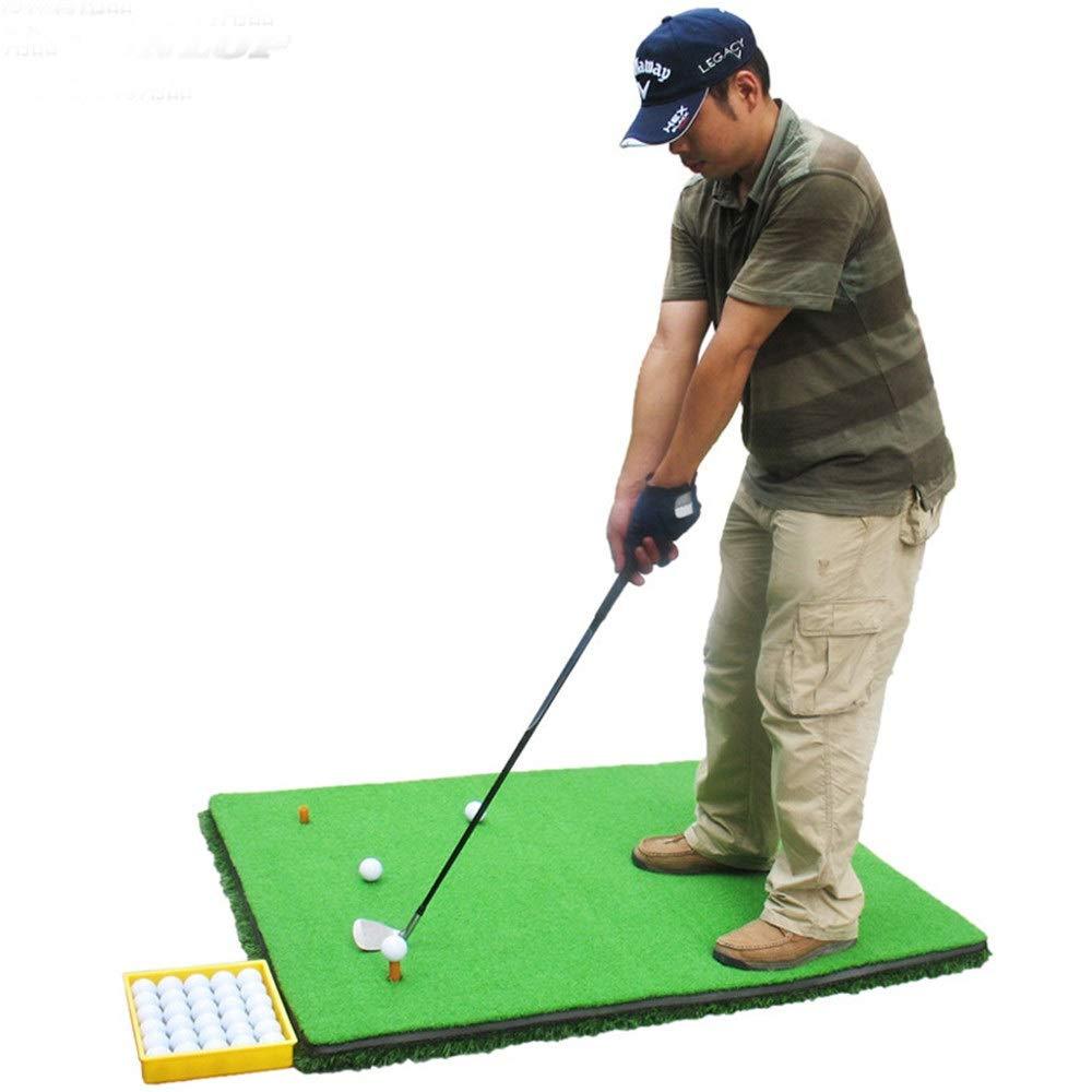 パター練習用マット 3d厚い滑り止めゴルフパターエクササイザーポータブルポータブルミニゴルフ人工グリーンパッティングマット付きプロフェッショナルグリーングラス 裏面滑り止め (色 : 緑, サイズ : 1.2*3.8M) 1.2*3.8M 緑 B07TFP1PG1