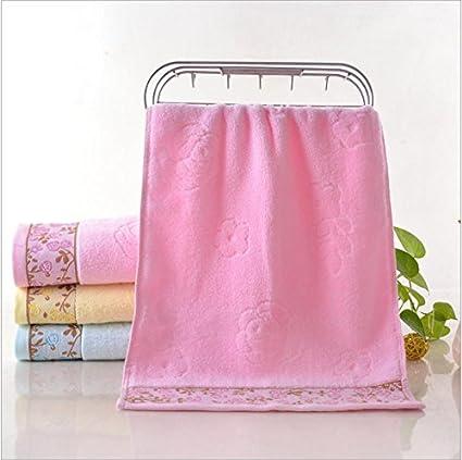 GGCCX Toalla De Baño toalla Hilo Sin Retorcer Flores De Hilo Mercancía General Toalla De Algodón