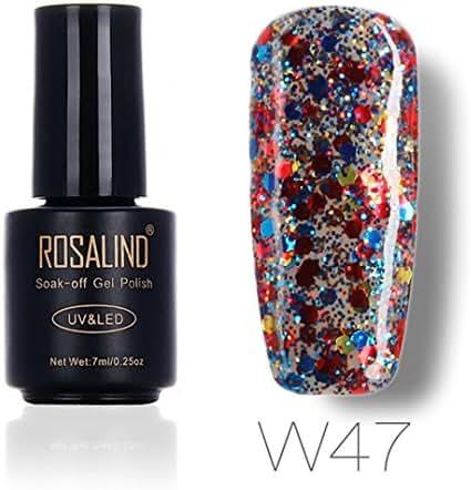 Women's Diamond Nail Polish, Iuhan 7ML Gel Nail Polish Nail Art Nail Gel Polish UV LED Gel Polish (G)