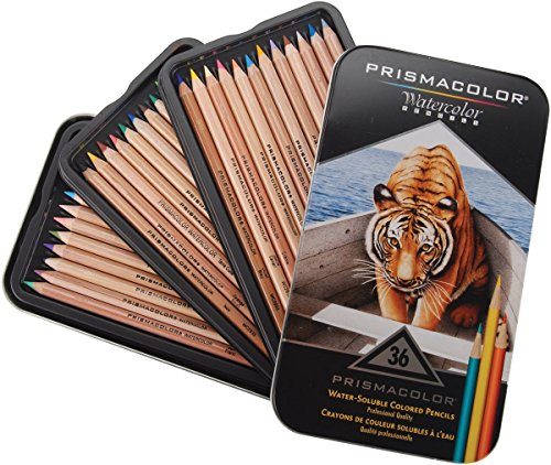 Prismacolor Water Soluble Colored Pencils 36 Count product image