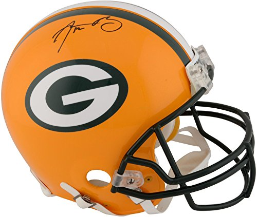 Autographed Authentic Pro Line Helmet (Aaron Rodgers Green Bay Packers Autographed Authentic Riddell Pro Line Helmet - Fanatics Authentic Certified)