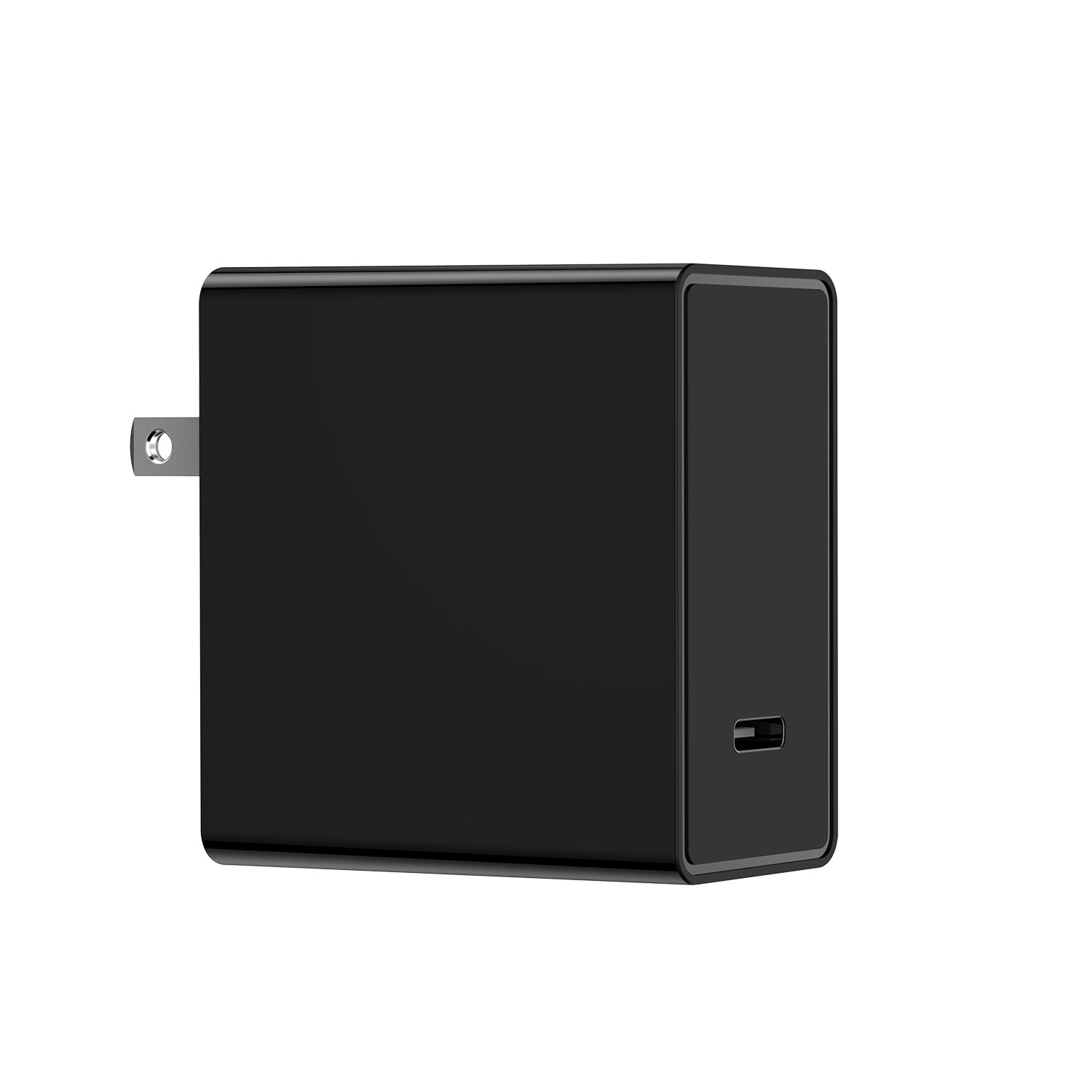 USB Type C Wall Charger, TORRAS 45W Fast Charger with PD/QC 3.0 Power Delivery Compatible for Laptop, Macbook/iPad Pro, iPhone Xs/Xs Max/XR, Google Pixel 3XL, Samsung Galaxy S9 Plus/S8 and more- Black by TORRAS