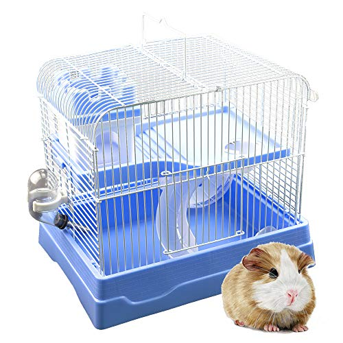 GNB PET Hamster Cage Easy DIY Portable Petite Habitat, Critter Dwarf Hamster Gerbil Mouse Small Animal Travel Cage with…