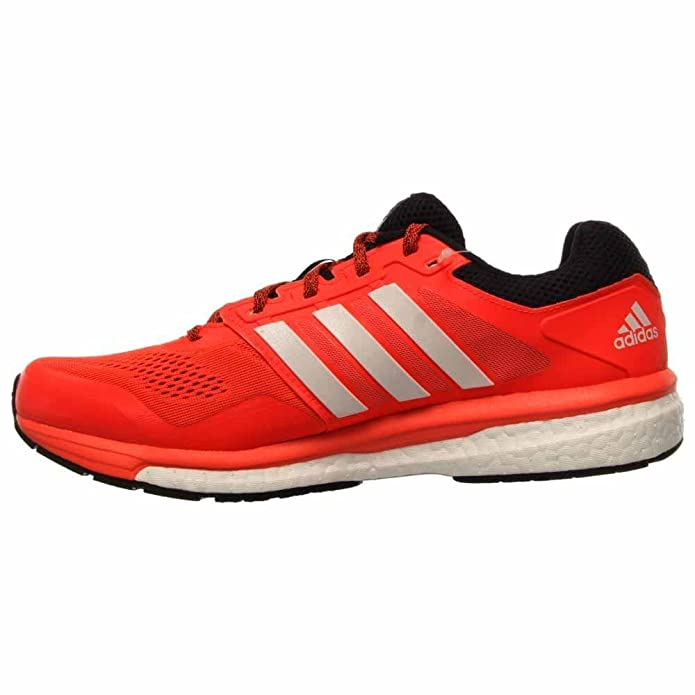san francisco fae0d 8d396 adidas Supernova Glide Boost 7 Mens Running Shoe 12 Solar Red-Black   Amazon.co.uk  Shoes   Bags