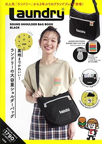Laundry ROUND SHOULDER BAG BOOK BLACK 画像 A