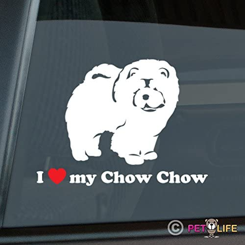 Personalized Chow Chow Decal Custom Vinyl Bumper Sticker Car Window Dog