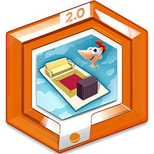 Price comparison product image Disney Infinity 2.0 Disney Originals RARE Orange Power Disc - Aerial Area Rug