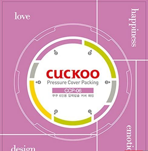 Cuckoo Pressure Cover Packing Replacement RingCCP-DH10