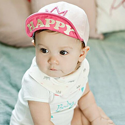 Tip Top Tiara (KAKA(TM) Babys Lovely Summer Spring Sun Procteted Hat Peaked Cap)