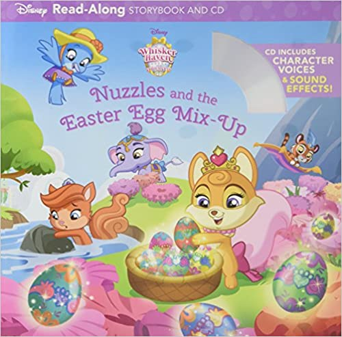 Whisker Haven Tales with the Palace Pets Nuzzles and the Easter Egg Mix-Up Read-Along Storybook and CD