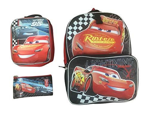 Disney Pixar Cars Rust-eze Lightning McQueen Top Speed 95 16