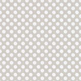 Carousel Designs French Gray and White Dot Cradle Sheet