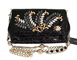 Crystal Sequined Clutch Bag