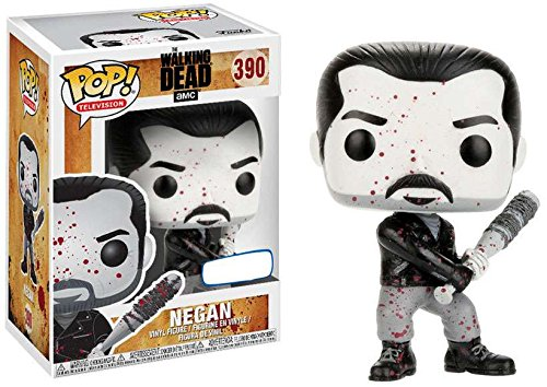Funko Pop  Television The Walking Dead Negan  390  Black   White Bloody