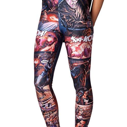 Sheoutfit Women's Hot Mass Effect Leggings Pants Free Size Color7